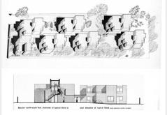 Kate Macintosh. 44 apartamentos para personas mayores en 269 Leigham Court Road, Londres.