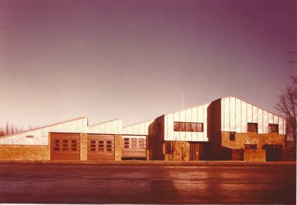 Kate Macintosh. Halton Fire Station, Hastings