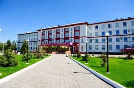 Lydia Komarova. Universidad Técnica Karaganda. Foto actual.