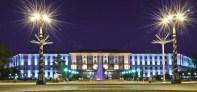 Lydia Komarova. Universidad Técnica Karaganda. Foto festiva.