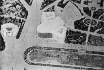 """Attilia Vaglieri_Plan monumental para la """"zona de la música"""" en el Aventino _Roma, Italia"""