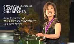 Elizabeth Chu Ritcher, Presidente AIA 2015.