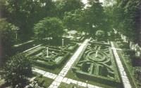 Ellen Biddle Shipman, The knot garden, Detroit, 1950.