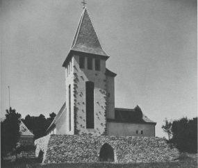 Helene Koller-Buchwieser, Iglesia para servicios Protestantes y Católicos.