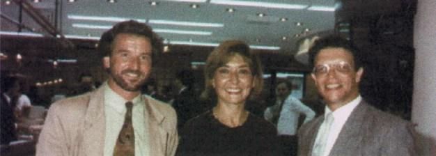 Integrantes del Estudio GPR Arquitectos: Ricardo Guguich, Angela Perdomo y Andrés Rubilar.