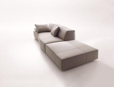 Patricia Urquiola. Bend sofa para bbitalia.