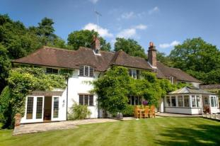 Clotilde K. Brewster, casa de Ethel Smyth, Brettanby Cottage, Hook Heath, Woking, Surrey, 1910