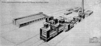 NINA VOROTYNTSEVA Perspectiva Planta de Cemento-Georgia _1929