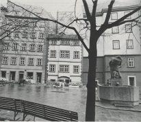 Ilse Koci, Plaza Maria em Gestade después de la remodelación, 1974.