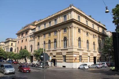 Clotilde K. Brewster, Palazzo Frankenstein-Soderini, Piazza del Popolo, Roma, 1891