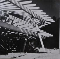 Lisbeth Sachs. Estructuras de madera.