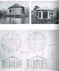 Truus Schröder y Gerrit Rietveld, Cabañas de madera movibles, HZH