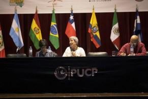 Ana Sugranyes. Encuentro Internacional de la Sociedad Civil y Gobiernos Locales Hacia Hábitat III, octubre 2015.