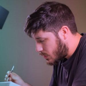 Retrato de Nelson Hernández