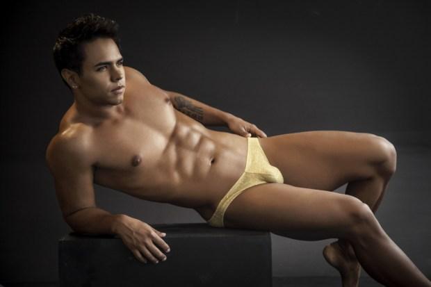 Vuthy Sim Gold Bikini