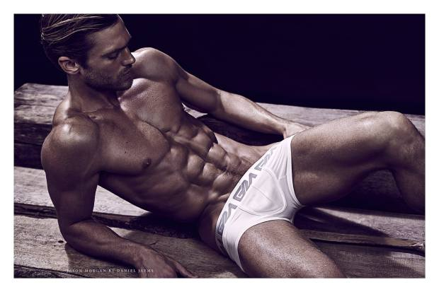 Jason Morgan shot by Daniel Jaems for Garcon Model-5
