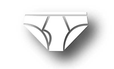 Undies Geek Briefs Shadow