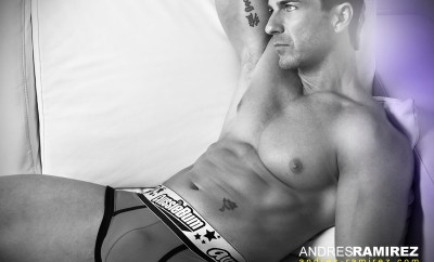 David Fillol Aussiebum Black and White