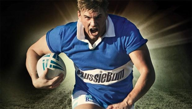 Aussiebum Rugby Jersey Blue