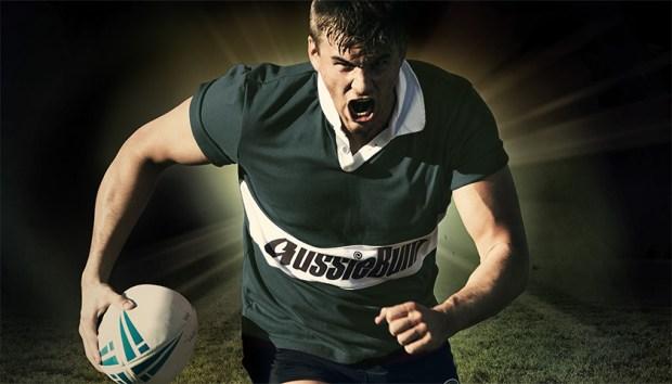 Aussiebum Rugby Jersey Forest Green