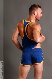 American Jock Gym Gerry Blue