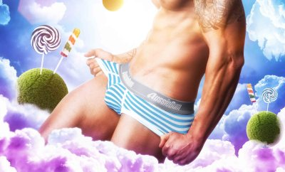 Candy Briefs Aqua Aussiebum