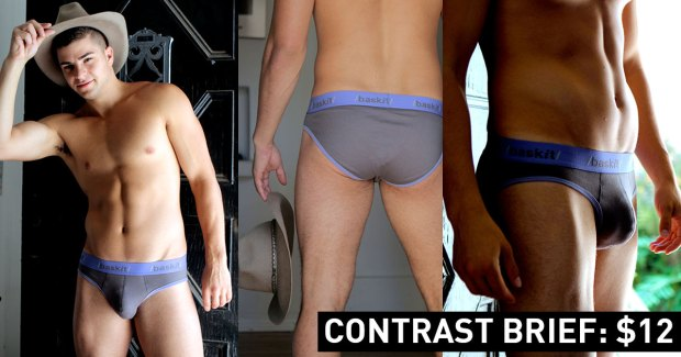 Contrast Brief Ronnie McNaughton Baskit