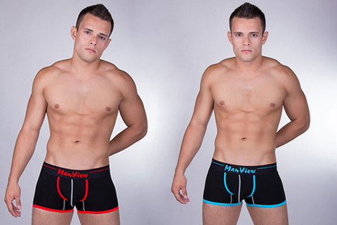 Manview Color Piping Cheap Undies