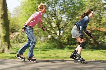 patinajul roller vă ajută să pierdeți în greutate)
