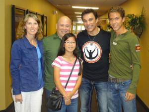 Mabry Family with Marc Mero