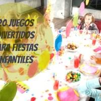 Juegos para cumpleaños y fiestas infantiles