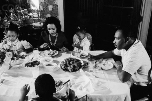 Dr. King at Supper