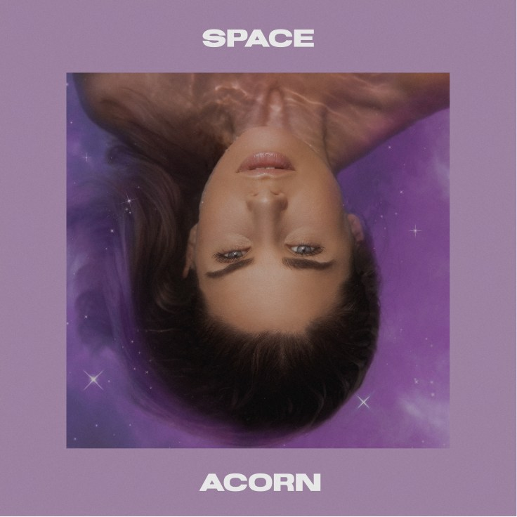 ACORN Album Cover for her second Pop Release called Space.
