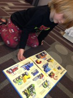 Ender with truck book