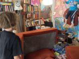 On swing destroyed living room blog