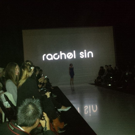 Opening collection for Rachel Sin at this year's WMCFW