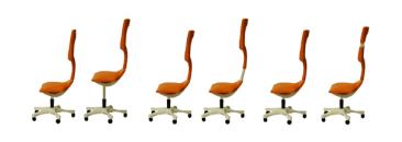 Hier kann man alles einstellen: Der Twist Chair Bürostuhl von Miray Oktem (c) mirayoktem.carbonmade.com