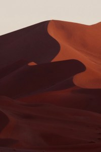 dune du désert de sossusvllein en namibie