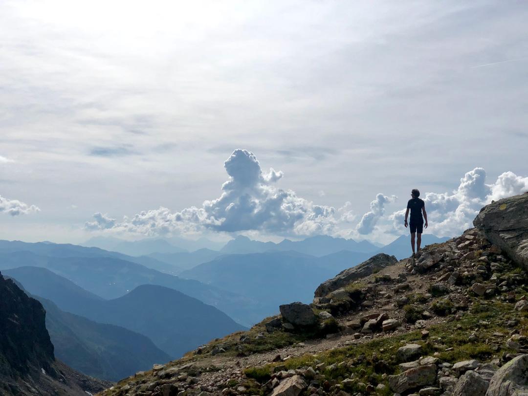 randonnee dans les nuages