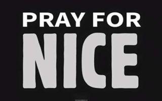 #PrayForNice #NousSommesNice