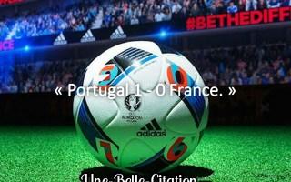 « Portugal 1 – 0 France – Euro 2016 »