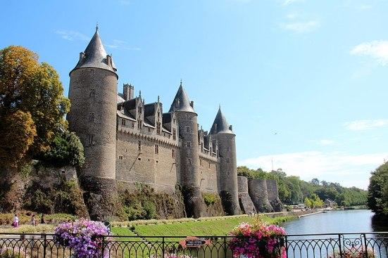 château de josselin - aux alentours de Vannes