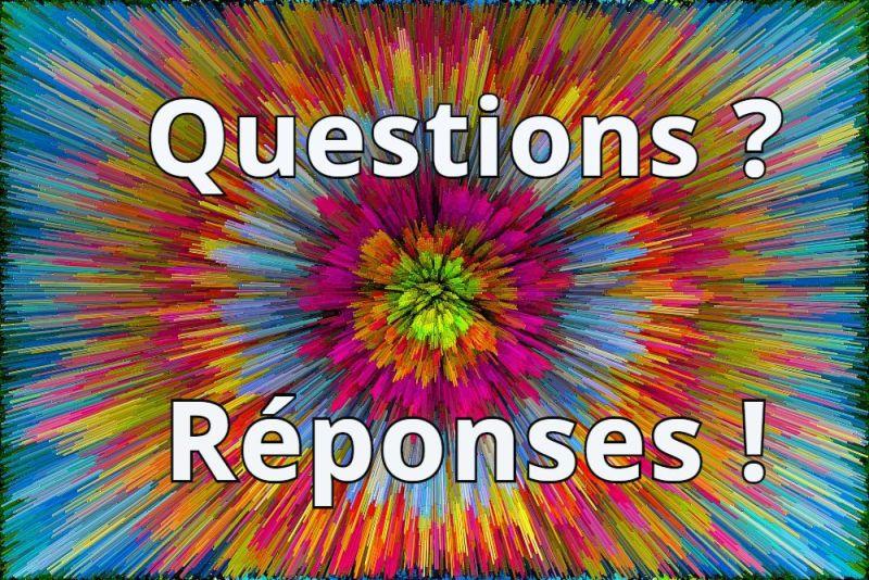 le jeu des questions réponses des lecteurs !
