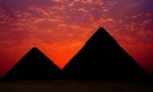The achievement of the great pyramids