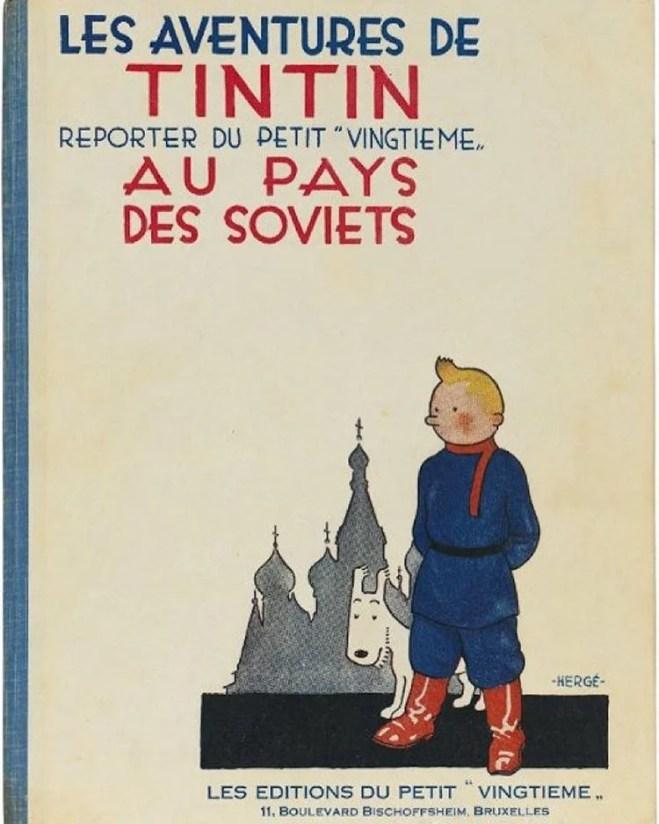 tintin soviet photo