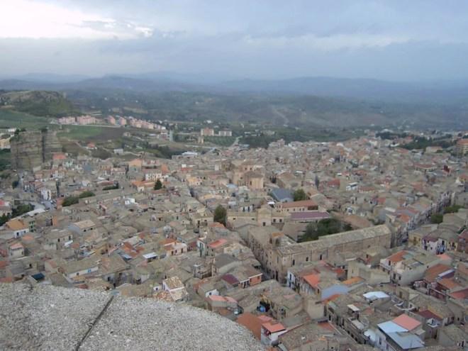 la ville de Corleone, d'où étaient originaires de nombreux accusés du procès