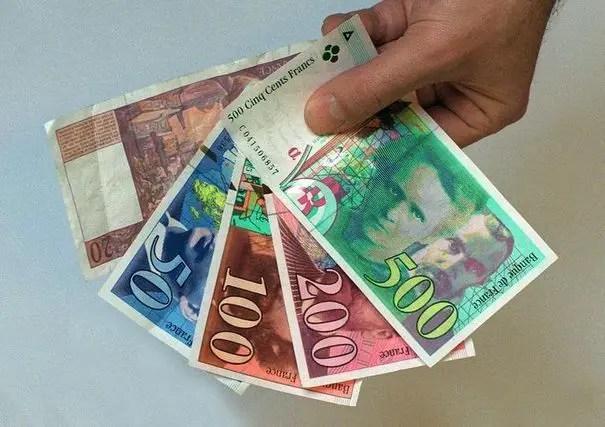 billets francs
