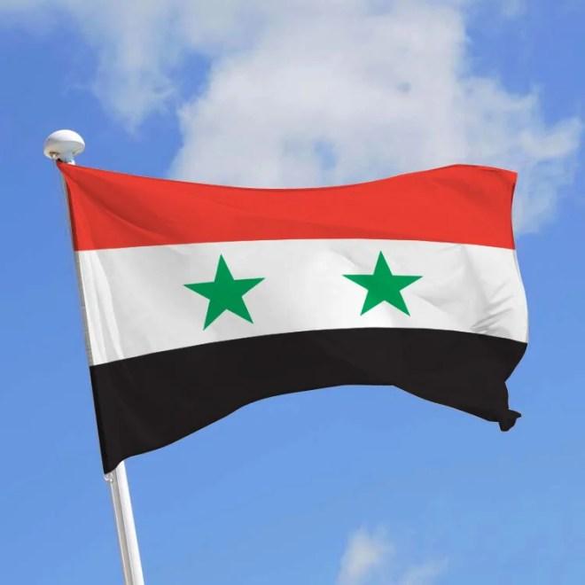drapeau syrie