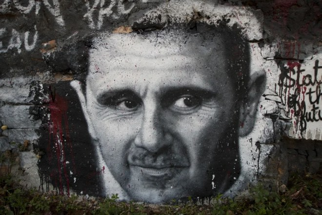 Bachar el-Assad photo