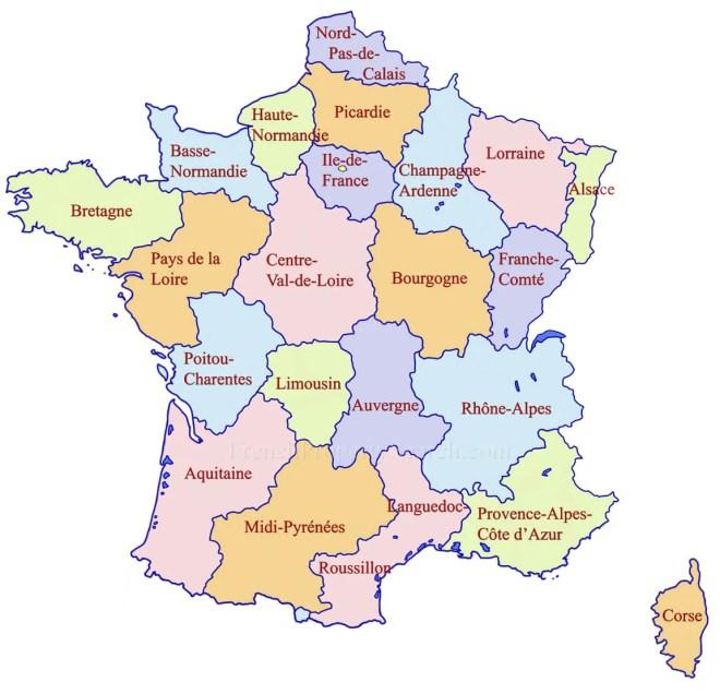 Regions france